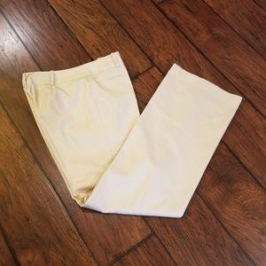 Ann Taylor LOFT silk/cotton dress pants